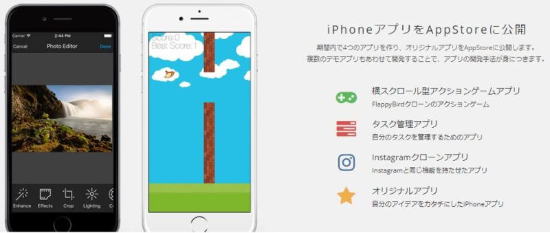 テックアカデミーiPhoneコース